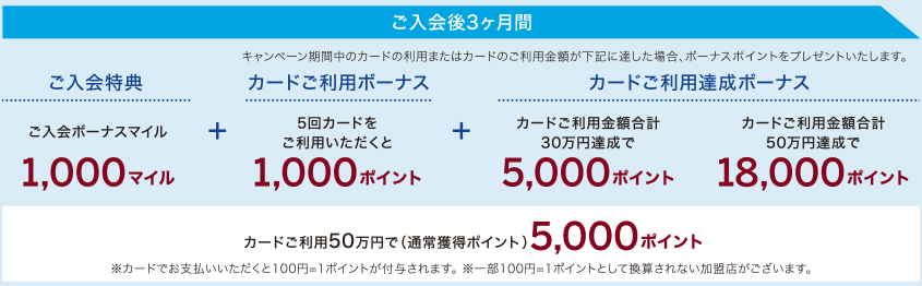 ANAアメリカン・エキスプレス・カード 入会キャンペーン